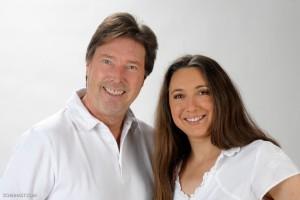 Entscheiden Sie, ob Sie eine Beratung bei Wolfgang T. Müller oder Silvia Martinek wünschen.
